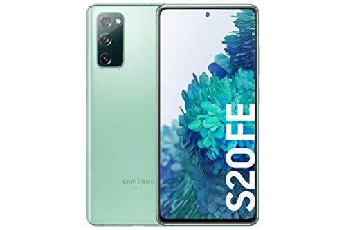 SAMSUNG Galaxy S20 FE 4G - Smartphone Android Libre, 256 GB, Color Verde [Versión española]