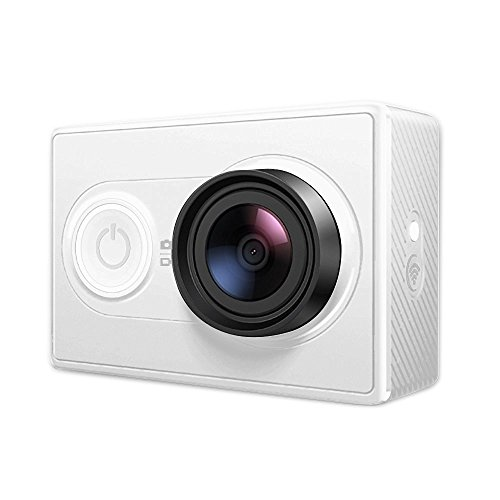 YI Action Camera Videocamera Action Cam HD 1080p / 60 fps 720p / 120 fps Fotocamera Digitale 12 MP WiFi, Bluetooth 4.0 (Bianca)