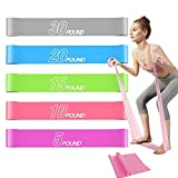 UglySwan Loop Resistance Bands for Women Butt and Legs - Latex Exercise Bands for Working Out at Home Workout Bands Stretch Bands for Fitness & Stretching (1 Free Long Resistance Bands)