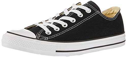 Converse Chuck Taylor All Star Canvas Low Top Sneaker Black 9.5