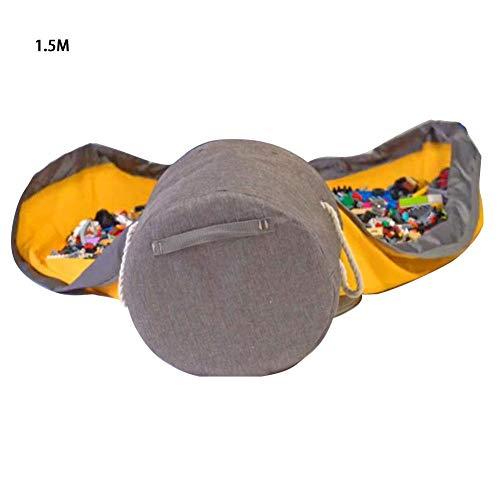 learnarmy Kinder Aufräumsack mit Drawstring Spieldecke Spielzeug Speicher Tasche Aufbewahrung Beutel Spielzeugaufbewahrung