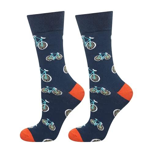 soxo lustige Herren Lange Socken | Größe 40-45 | Bunte Herrensocken aus Baumwolle mit witzigen...