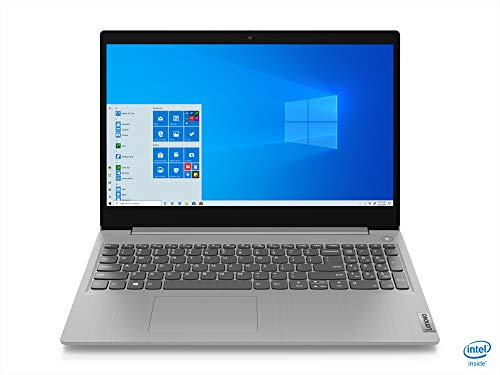 "Lenovo IdeaPad 3 - Portátil 15.6"" FullHD (Intel Core i5-1035G1, 12GB RAM, 256GB SSD, Intel UHD Graphics, Windows 10 Home), Color gris - Teclado QWERTY Español"