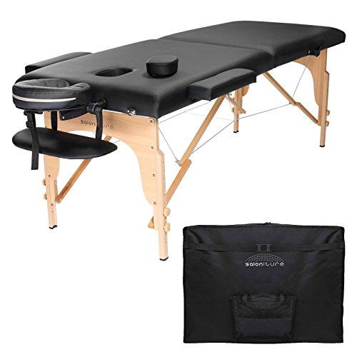 Saloniture Professional Portable Folding Massage Table...