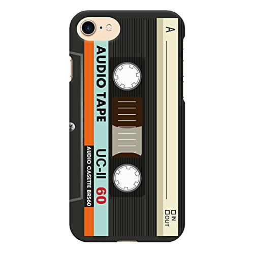 ブレインズ iPhone SE 第2世代 2020 iPhone8 iPhone7 ハード ケース カバー カセットテープ mod 01A カセット テープ レトロ 70's 80's