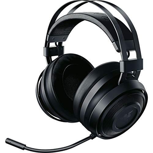 Razer Nari Essential ゲーミングヘッドセット THX 360度立体音響 無線 冷却ジェルパッド PC PS4 PS5 Switc...