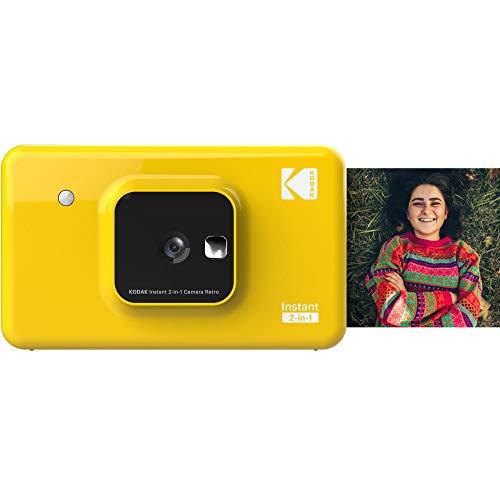 KODAK インスタントカメラプリンター C210 イエロー 1000万画素 Bluetooth接続 C210YE 【国内正規品】