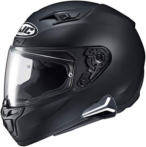 HJC i10 Full Face Helmet Snell 2020 with Sena Smart HJC Bluetooth Headset SF Black M