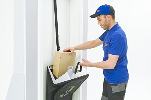 PakSafe Paketbriefkasten inkl. Versicherung, für zuhause mit Schließfunktion, Paketbox für alle Postdienste - 5