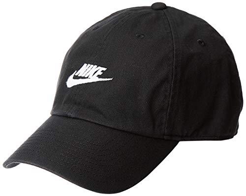 Nike U NSW H86 cap Futura Washed, Cappello Nessun Genere, Nero/Bianco, Taglia Unica