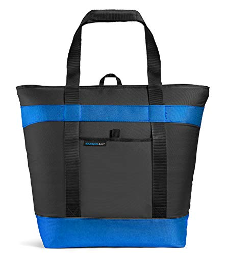 Rachael Ray Jumbo ChillOut Thermal Tote Bag for Grocery Shopping, Transport Cold or Hot...