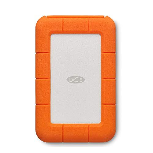 LaCie Rugged USB-C, 4 TB, Hard Disk Esterno...
