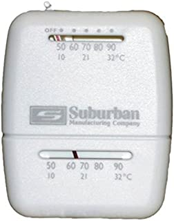 Suburban 161154 Wall Thermostat – Heat Only – White