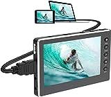 Vidéo Capture, Convertisseur vidéo USB 2.0 1080P 60FPS avec écran OLED de 5...