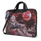 Hdadwy Rosario + Vampire Laptop Shoulder Messenger Bag Funda para computadora portátil de 13 Pulgadas 13 Pulgadas