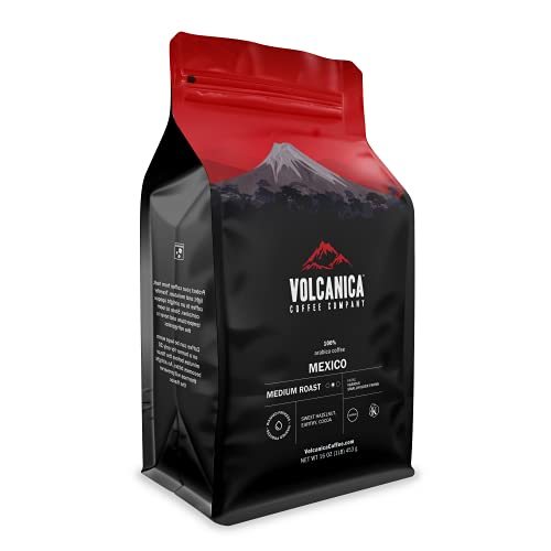 Mexican Coffee, Organic, Whole Bean, Fresh Roasted, 16-ounce