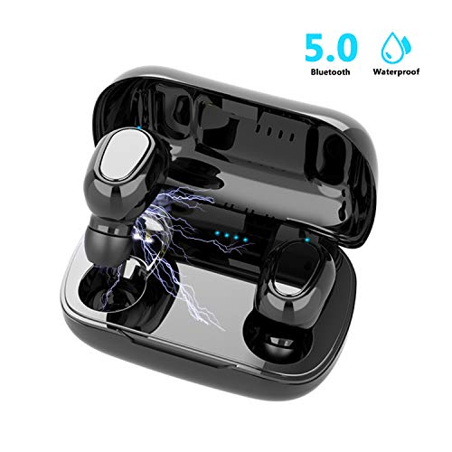 Auriculares Inalámbricos Bluetooth 5.0, Inalámbricos In-Ear...