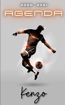 Agenda 2020 2021 Kenzo: Agenda Scolaire Foot Personnalisable ⚽ Cadeau pour KENZO ⚽ Prénom Agenda personnalisé   Journalier   Football   Garçon Ado   Collège Primaire Lycée Étudiant