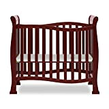 Dream On Me Violet Mini Crib in Cherry, Greenguard Gold Certified