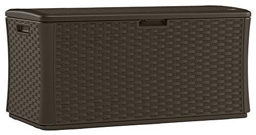 Suncast Bmdb134004 Wicker Resin Deck Box Buy Online In Congo At Desertcart