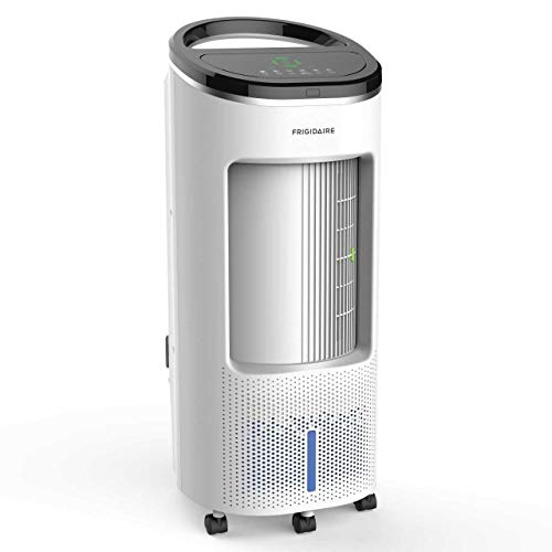Frigidaire EC200WF Portable Evaporative Air Fan and Humidifier, Personal Indoor Outdoor Swamp Cooler, 600 CFM, 250 sq ft