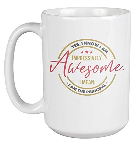 Awesome Principal Coffee & Tea Gift Mug for Boss, Chief, Guidance & Chair (15oz)