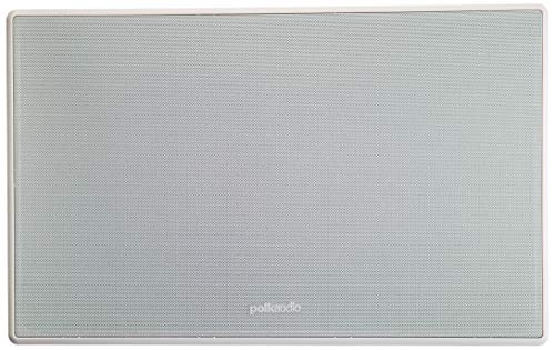 Polk Audio 255c-RT In-Wall Center Channel Speaker (2) 5.25' Drivers - The Vanishing Series   Easily Fits into the Wall   Power Port   Paintable Grille