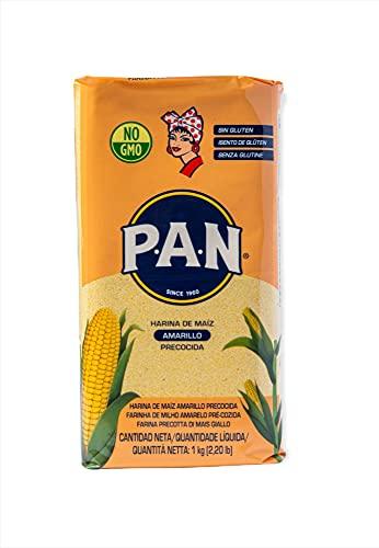 P.A.N. Harina de Maiz Amarilla Precocida 10 x 1kg