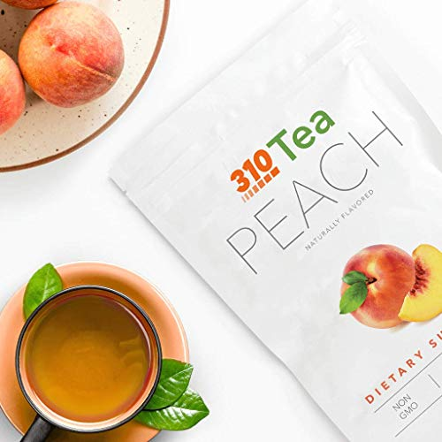 Peach Tea by 310 Nutrition - Supports Body's Natural Detox Process, Organic Green Tea with Yerba Mate, Guarana, Plus More Natural Ingredients, Comes with Free eBook (28 Servings) 6