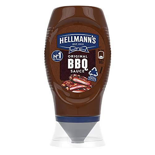 Hellmann's - Salsa Barbacoa Bocabajo, 285 gr
