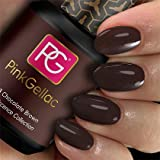 Pink Gellac 203 Chocolate Brown UV/LED Gel Polish
