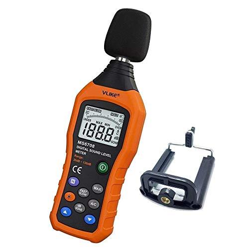 VLIKE LCD Digital Audio Decibel Meter Sound Level Meter Noise Level Meter