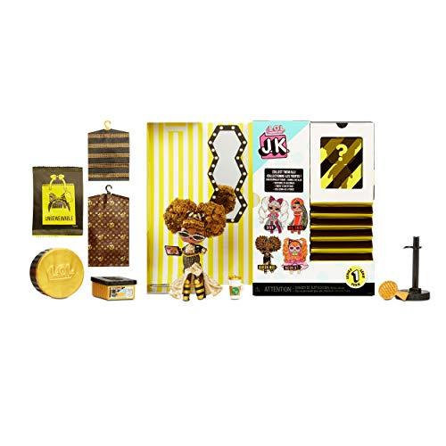 Image 1 - LOL Surprise Mini Poupées Mannequin JK - 15 Surprises, Vêtements et Accessoires - À Collectionner - Queen Bee