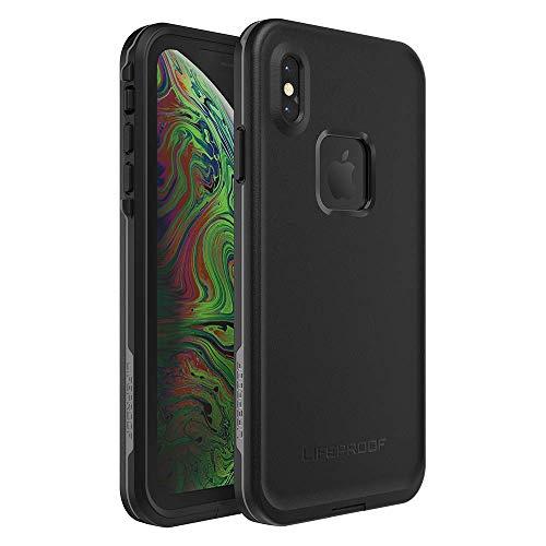 LifeProof FRE Series Case for Apple iPhone XS Max - Asphalt (Black/Dark Gray) (Renewed)