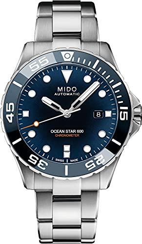 Mido Automatik-Taucheruhr für Herren Ocean Star 600 Blau M026.608.11.041.01