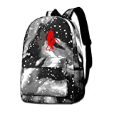 Lawenp Devil Gemini Angel Demon Galaxy Mochilas para Viajes Escolares Negocios Compras Trabajo Bolsas Elegantes Mochilas Informales