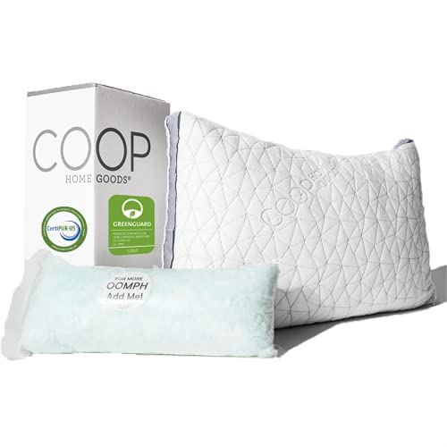 Coop Home Goods Eden Bed Pillow for Sleeping - Plush and...