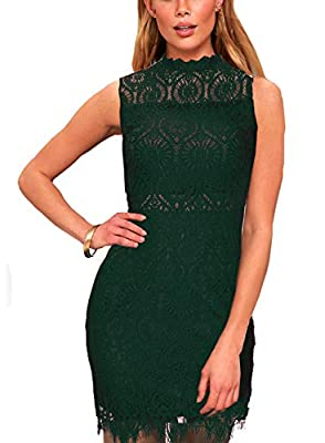 Hand wash cold, dry flat; please don't ironing Our stylish sleeveless cocktail floral lace dress, lovely eyelash lace creates an eye-catching. soft lining creates a cool two-piece look beneath sheer lace as it forms a ruffled, rounded neckline, and a...
