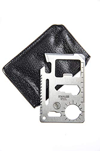 SE MT908 11-in-1 Multi-Function Survival Tool Credit Card Size