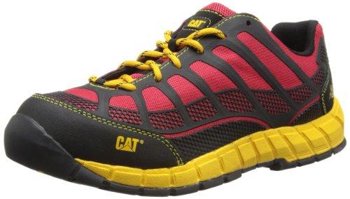 Cat Footwear Streamline CT S1P - Zapatos de Seguridad para Hombre, Color Rot (True Red), Talla 40