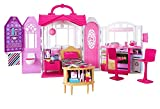 ​Barbie Glam Getaway Portable Dollhouse, 1 Story with Furniture, Accessories and Carrying Handle,...