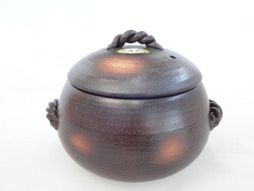 炊飯 ご飯土鍋 5合炊き 万古焼