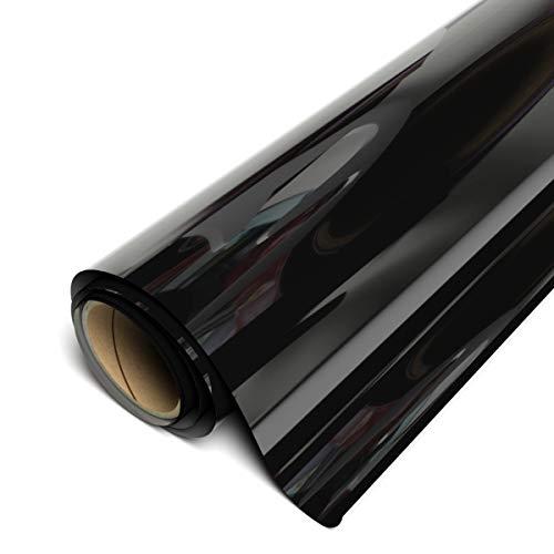 """Siser EasyWeed HTV 11.8"""" x 3ft Roll - Iron on Heat Transfer Vinyl (Black)"""