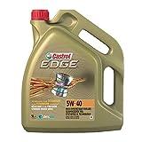 Castrol EDGE 5W-40, Huile Moteur, 5L