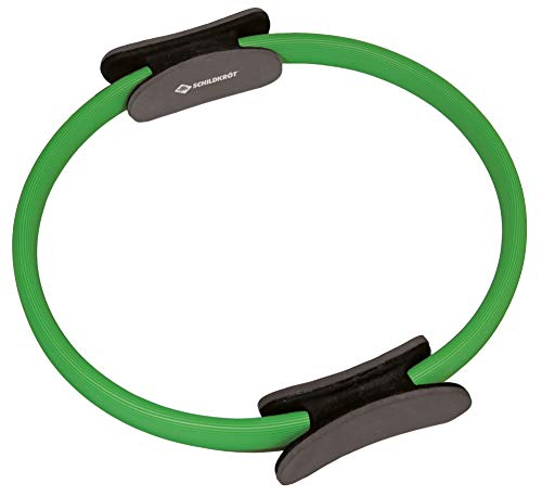 Schildkröt Fitness Pilates Ring, Grün-Schwarz, in 4-Farb Karton, 960032