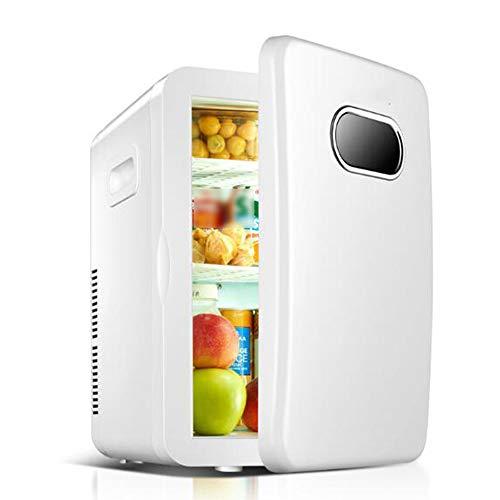 ZKKK Mini frigo Bar con congelatore,20L, refrigerazione Dual-Core, Compressore e Freezer, Portatile...