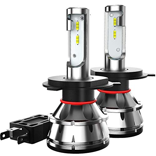 TIANFUYAO H4/9003/HB2 LED Headlight Bulbs - 100W 12000LM 6000K Xenon White - High/Low Beam,Fog Light Bulb Conversion Kit - IP67,CSP Chips,360 Degree