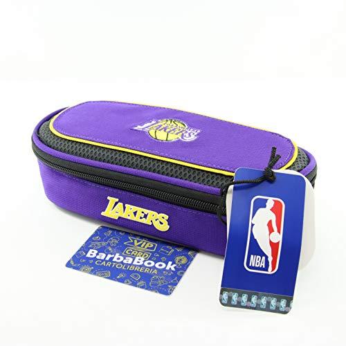 ASTUCCIO OVALE NBA LOS ANGELES LAKERS + VIP CARD BARBABOOK