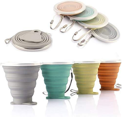 Mug à café portable,DEHUB Coupe de voyage légère,FDA et BPA sans Mug à...