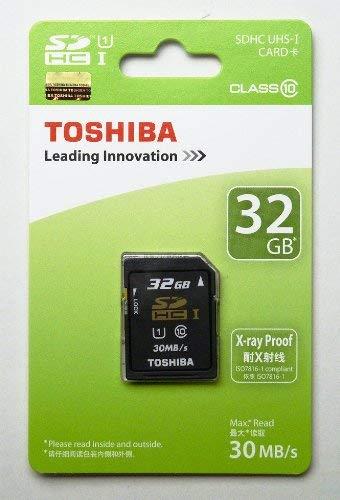 東芝 SDHC UHS-I 32GB Class10 30MB/sToshiba 海外パッケージ品